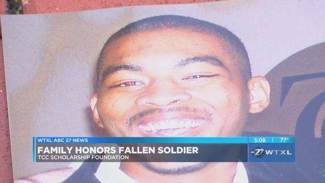Familys Love For Their Fallen Soldier Benefits TCC Students