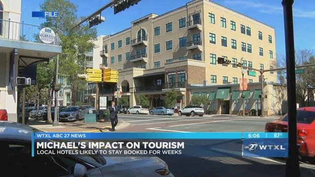 Local Hotels Likely To Stay Booked For Weeks Due Michael News Wtxl