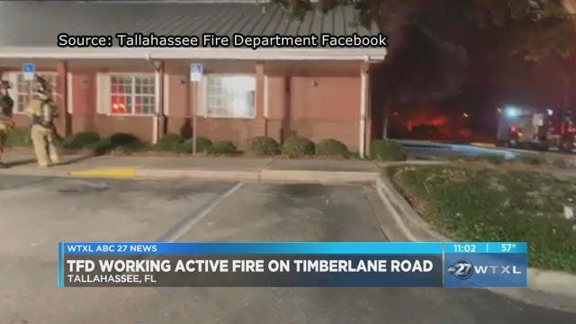 Tfd Responds To Fire At Sonny S Bbq News Wtxl Com